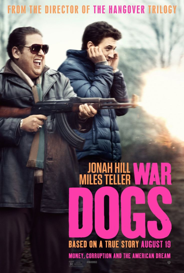 'War Dogs' (2016) by Todd Phillips. Two 20-something lads (Miles Teller and Jonah Hill) set up their own defends contracting business and attempt to sell arms and ammunition to the US government. It's drugs, backstabbing and danger and its tense as hell - with comedy taking the edge off. It's a riot. Based on a true story. Solo cinema with a beer after.
