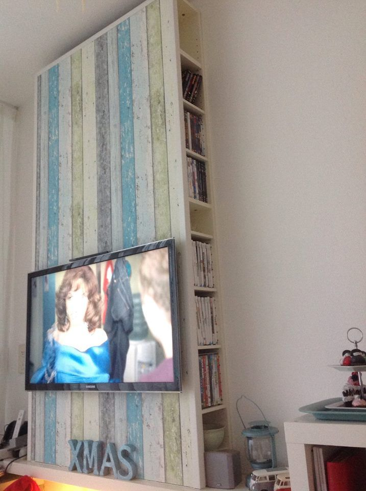 25 beste idee n over muur achter tv op pinterest muur achter de bank kinderen tv kamers en - Deco tv muur ...