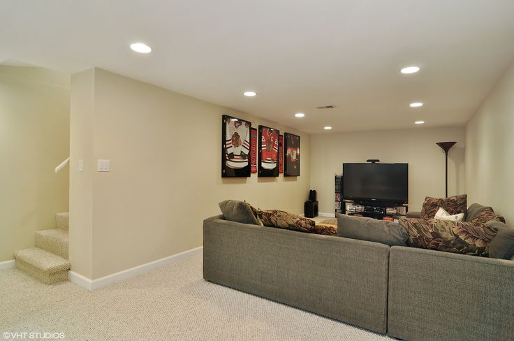 Huge Full Finished Basement With Large Recreation Area