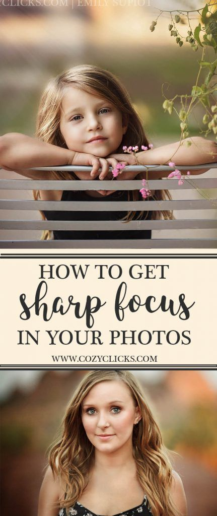 Get super sharp focus in your photos every time following these simple tips. Read how here!