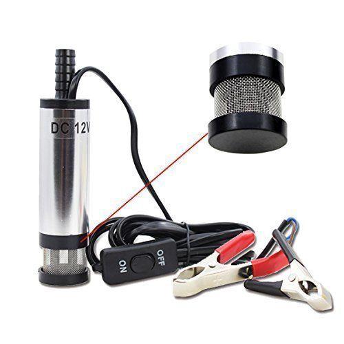 12V Tauchpumpe Wasserpumpe Silber für Auto KFZ Diesel Öl Heizöl 38MM Transfer Pumpe Wasser Tranfer Pumpe - http://autowerkzeugekaufen.de/wise/12v-tauchpumpe-wasserpumpe-silber-fuer-auto-kfz-l