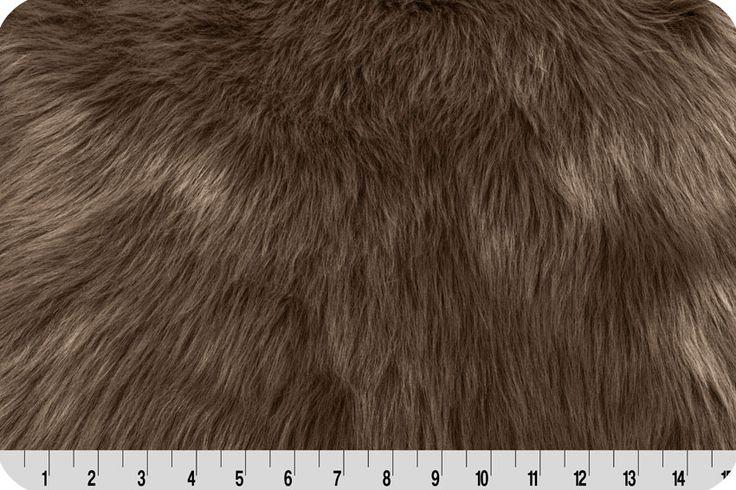 Monkey Shag Fur Brown  Faux Fur  Faux fur rug Faux fur Fur