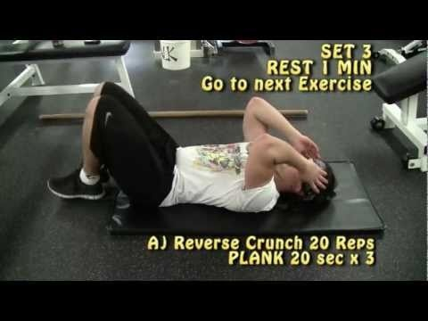 Lower Tummy Blaster (Full Sexy Women Ab/Core Routine)- Lose Fat on your Stomach!