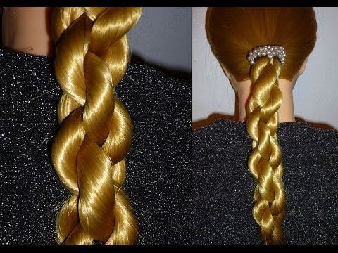 Спиральная коса - Hairstyles by REM - YouTube