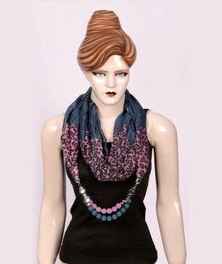Latest Fashion High Quality Jewellery Scarf With Pendent http://goo.gl/5uCfbm #Fashion #Style #DressesforWomen #Women #Offer #Deal #latesttrends #boutique #discount #dresses #Gawn #SexyGawn #Girls #fabulous #PartyDresses