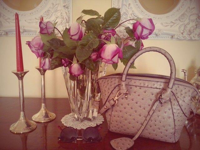 The bag flower!! #novemberain blog
