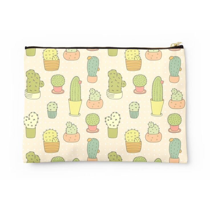 yellow cactus cacti clutch bag from LA LA LAND £30