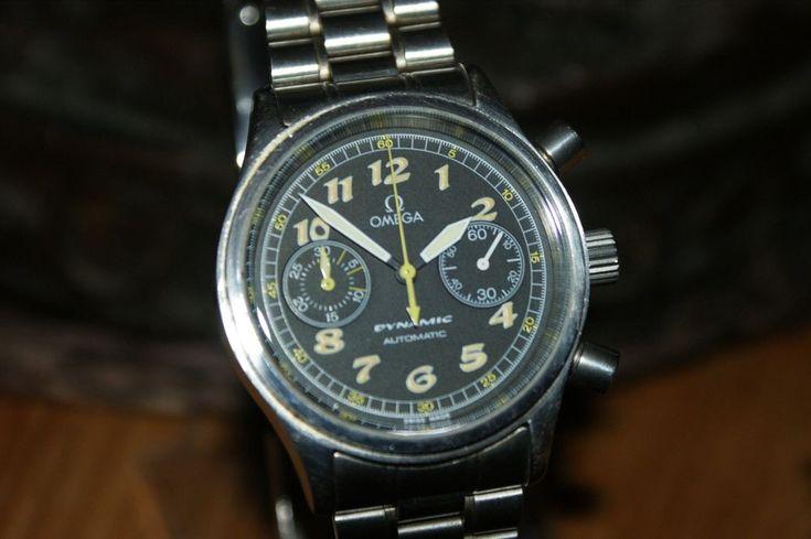 Omega Dynamic chronograph automatic 1998 vintage !  | eBay
