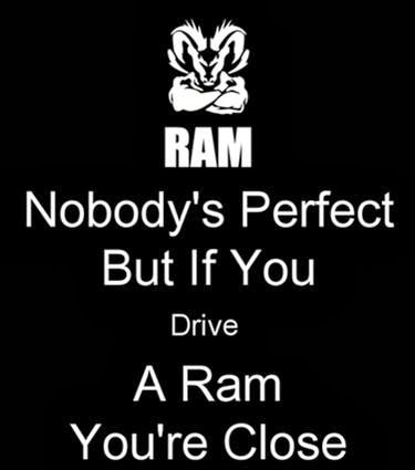 "Ram Trucks - ""Makes perfect sense to us."" Thanks to Ram Trucks fan Dave Dickerson for sharing."