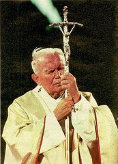 Pope John Paul II was a wonderful example of how to suffer with grace.