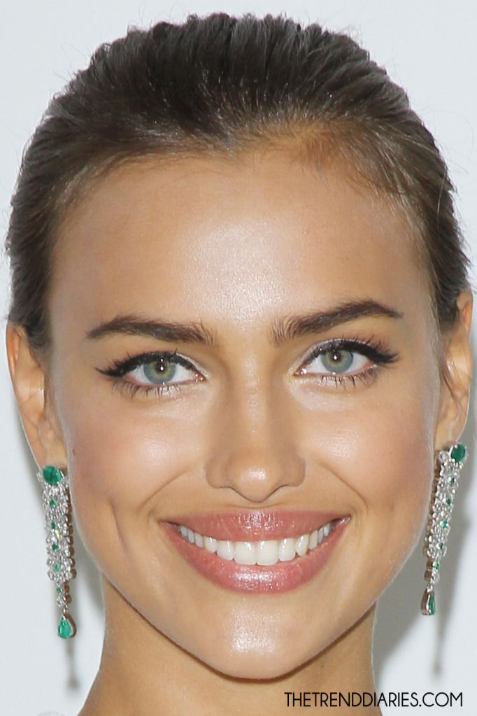 Irina Shayk - she's always looking like someone else BTW #eye #color #contacts Colored Contact Lenses