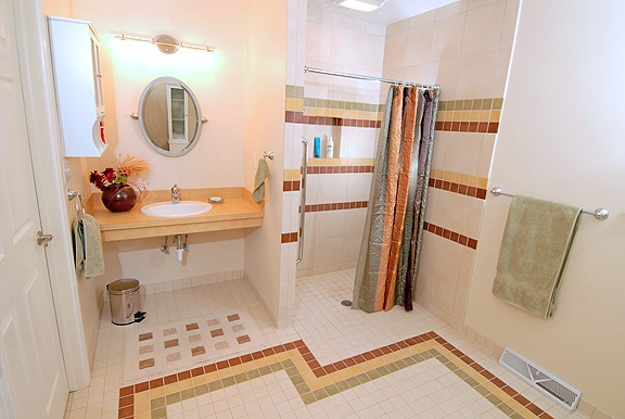 47 Best Images About Wheelchair Accessible Bathrooms On Pinterest Traditional Bathroom Design
