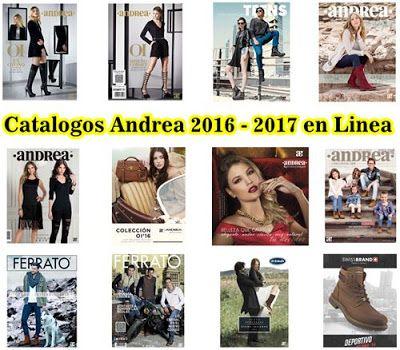 catalogos andrea 2016 y 2017