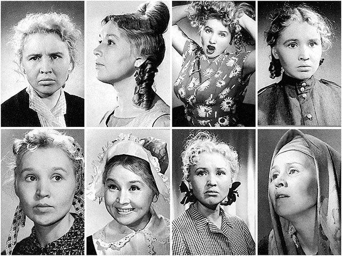 Выразительные фотопробы Екатерины Савиновой.