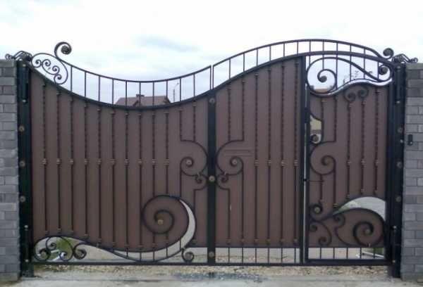 Дизайн ворот железных фото – железные ограждения с ...