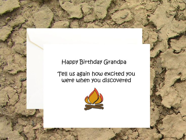 Make grandpa smile with this funny birthday card. https://www.etsy.com/listing/217355989/happy-birthday-grandpa-birthday-cards?ref=shop_home_active_6