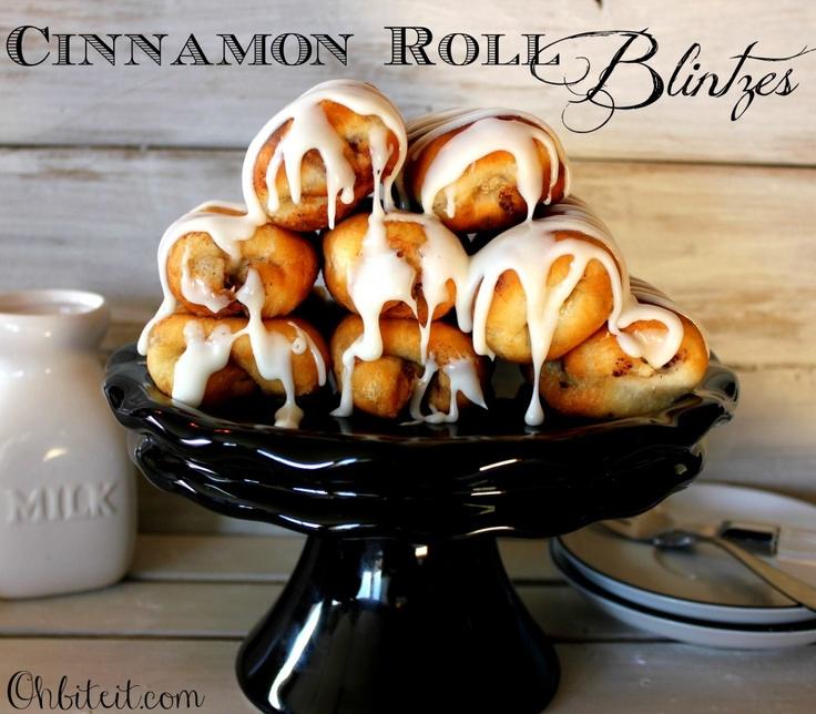 ~Cinnamon Roll Blintzes!