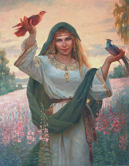 славянской картинки духи мифологии