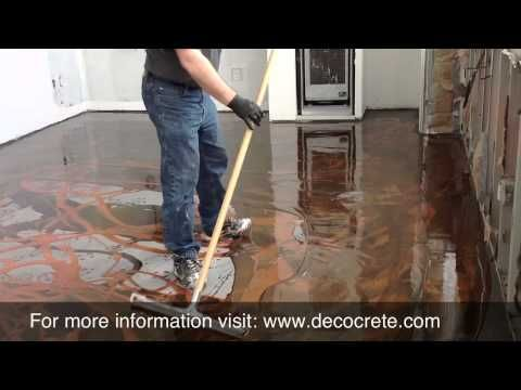 Designer Epoxy Installation Video - New York City. Repin & Click For More Info or Quote @ Your Home / Business.