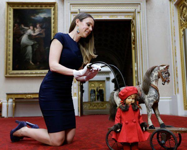 """Con la exposición """"Una infancia real"""" presentan al público a partir de este sábado los tesoros de los niños de la monarquía británica"""