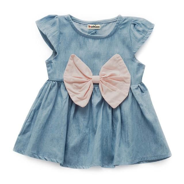 Looking for a gift? Start here 👉  Baby Girl Denim Dress http://www.bundleslove.com/products/baby-girl-denim-dress?utm_campaign=crowdfire&utm_content=crowdfire&utm_medium=social&utm_source=pinterest