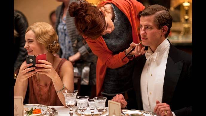 Downton Abbey, Season 5: Episode 7 Behind-the-Scenes Slideshow | 7. Episode 7 | Season 5 | Downton Abbey | Programs | Masterpiece | PBS