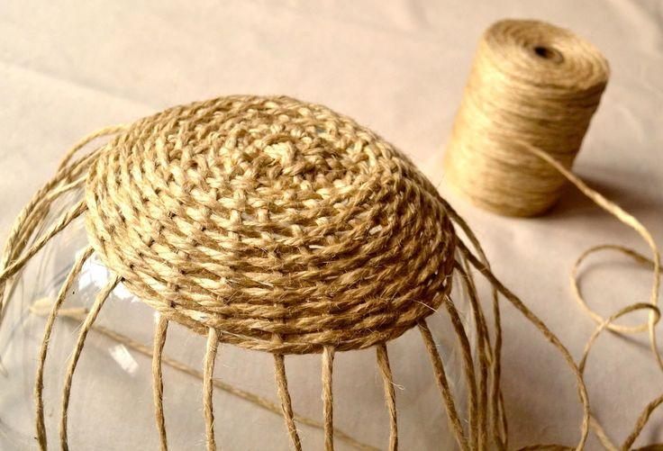DIY: woven bowl basket — Keightly