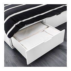 die besten 25 bett mit stauraum 140x200 ideen auf pinterest ikea betten 140x200 ikea betten. Black Bedroom Furniture Sets. Home Design Ideas
