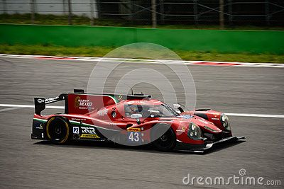 RGR Sport by Morand Team is testing his Ligier JS P2, in preparation of the 24 Hours of Le Mans. This Prototype competes in the 2016 FIA World Endurance Championship with the drivers Ricardo González, Filipe Albuquerque and Bruno Senna.
