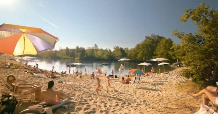 Zabudnite na dovolenku pri mori. Na týchto 8 miestach na Slovensku sa okúpete na pieskovej pláži | interez.sk