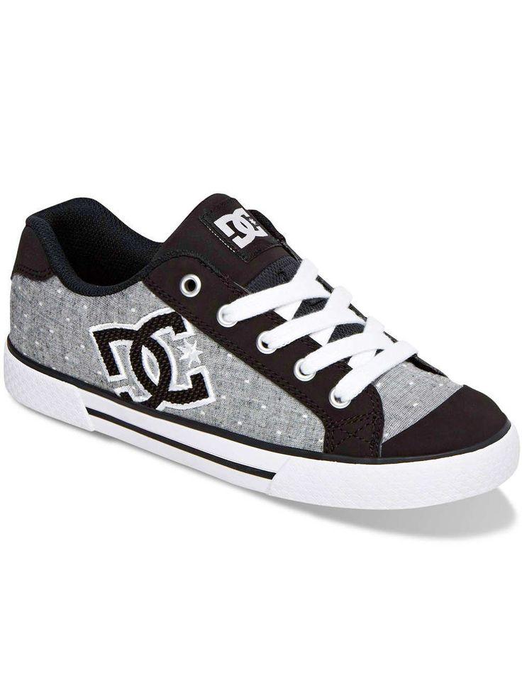 DC Chelsea TX SE Sneakers Blue/White Print