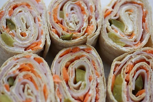 """""""Sushi"""" Ham/Cheese Roll Up"""