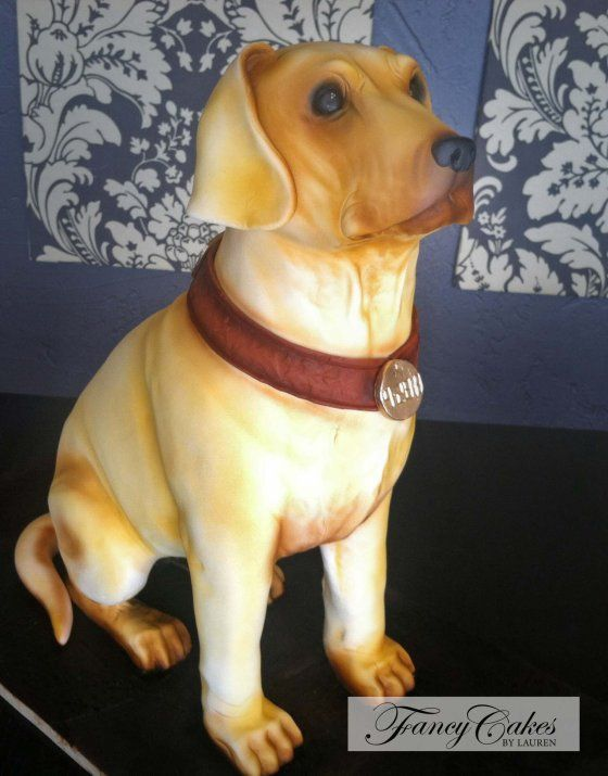 Labrador Cake | Fancy Cakes By Lauren