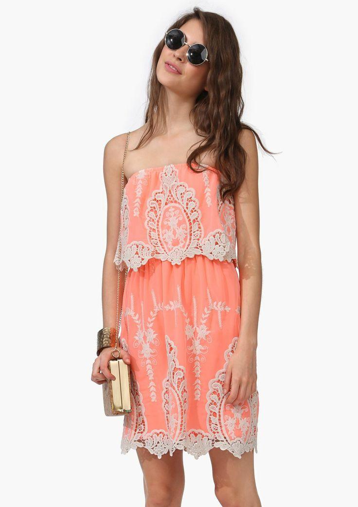 Neon Crochet Dress | Shop for Neon Crochet Dress Online