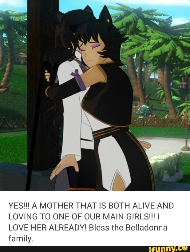 The only RWBY teammate who doesn't have (apparent) family problems