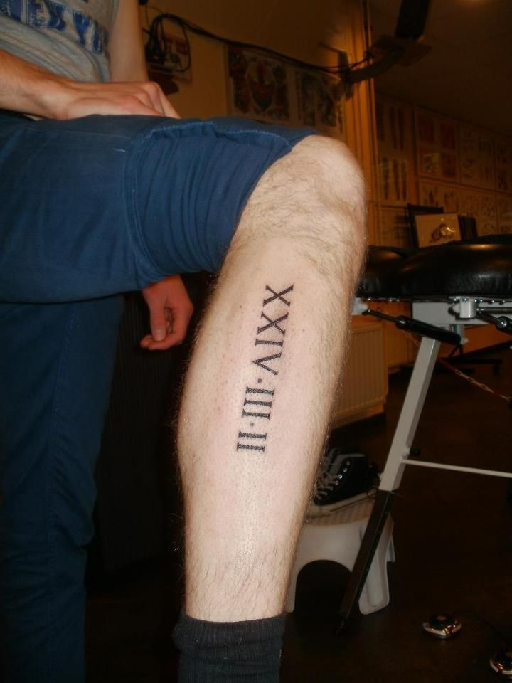 http://tattoo-ideas.us/wp-content/uploads/2014/03/Roman-Numerals-Date-Tattoo.jpg Roman Numerals Date Tattoo #Yourtattoos