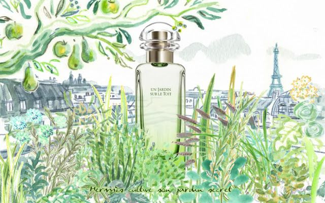 Hermes Parfum- Un Jardin Sur Le Toit