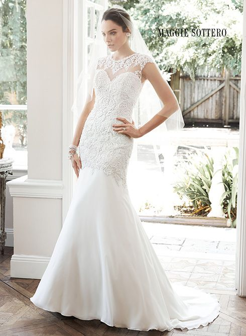 Galerry sheath wedding dress designers