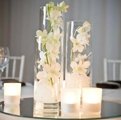 arreglos de flores artificiales en jarrones - Buscar con Google
