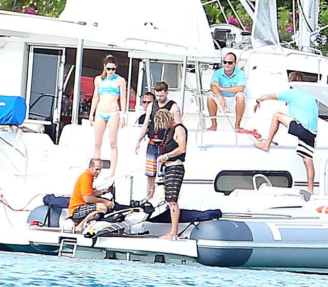 Justin Timberlake and Jessica Biel's Sexy Barbados Getaway: Bikini Body, Bathing Suit Pictures