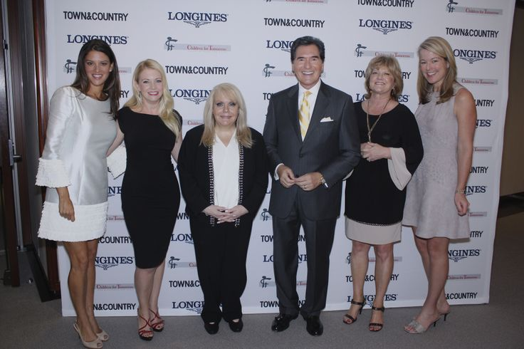 Ross Ellis one of three winners of the Longines Town & Country Fifth Annual Women Who Make A Difference Awards