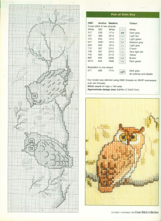 Gallery.ru / Photo # 45 - Cross Stitch Collection 026 October-November 1996 - tymannost