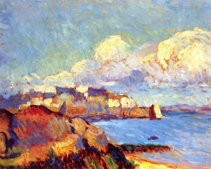 """Bay of Douarnenez, Brittany"",  Bernhard Gutmann"