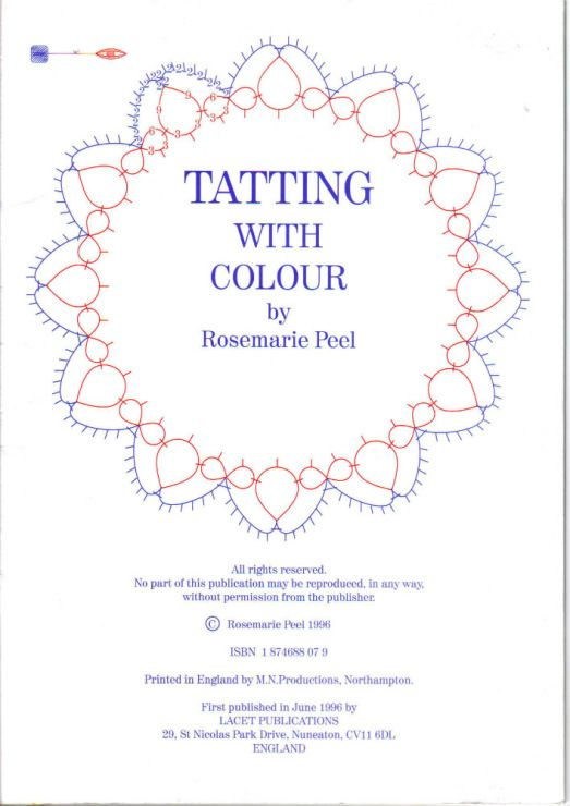 Tatting with colour - purchased in January