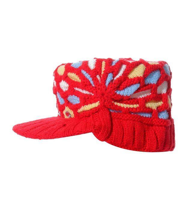 Babeezworld Red Baby Cap