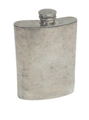 Vintage Circa 1920 Pewter Flask