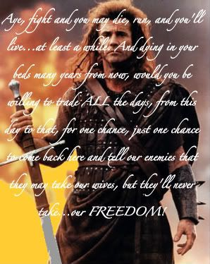 The Inspiration...William Wallace  http://wp.me/p1SyXv-2C