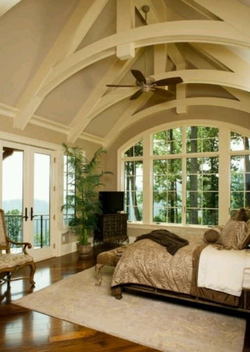 9 best half vaulted ceilings images on pinterest pine for Half vaulted ceiling with beams