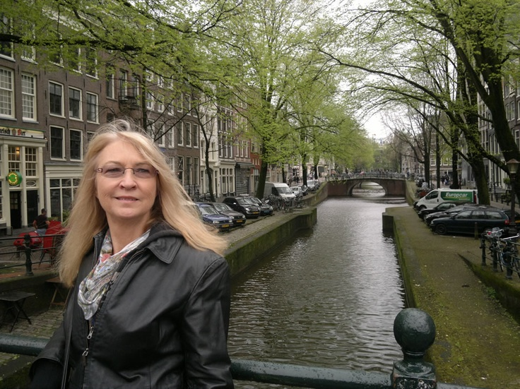 Amsterdam in it's state of sedate beauty. The sea of orange will be back on April 30th, 2013.