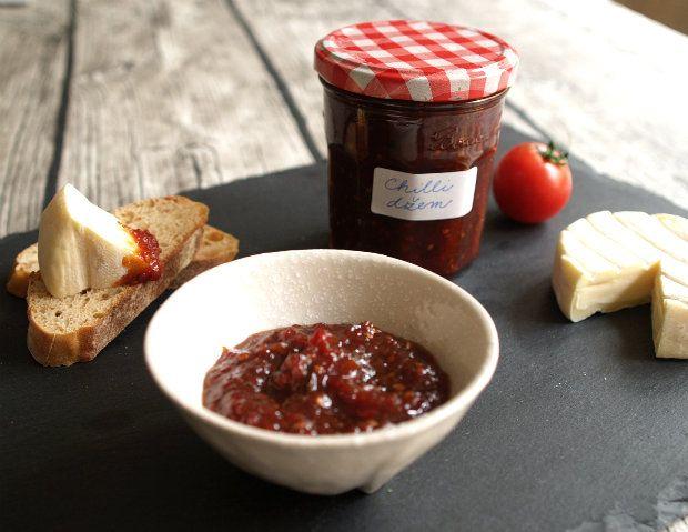Rajčatový chilli džem s balzamikem , Foto: Klára Michalová